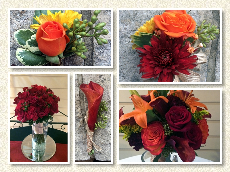 Autumn Floral Weddings Bouquets